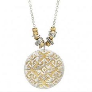 Silpada Sundial Necklace
